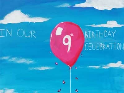 9th anniversary celebration
