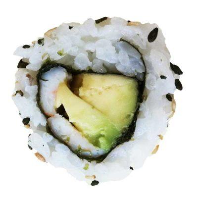 Prawn Avocado Uramaki