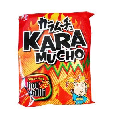 Karamucho Ridge Cut Japanese Potato Crisps