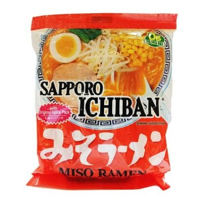 Sapporo Ichiban Miso Ramen