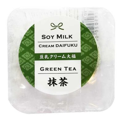 Soy Milk Cream Daifuku (Green Tea)