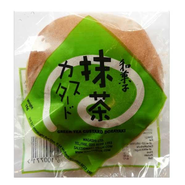 Wagashi Matcha Custard Dorayaki