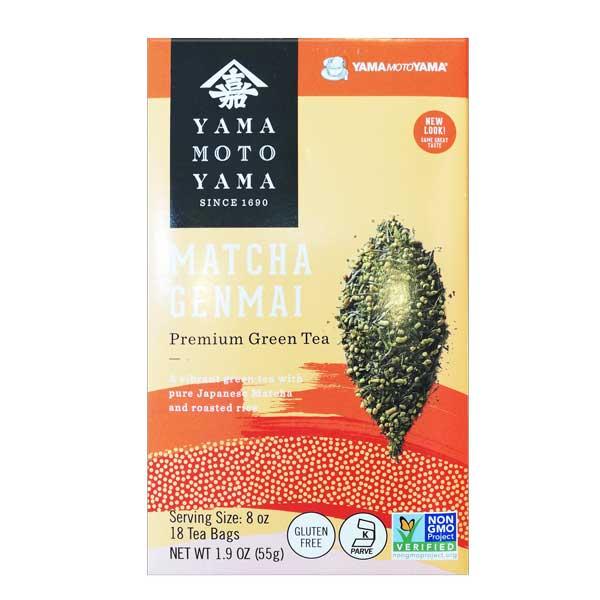 Yamamotoyama Matcha Genmai Tea
