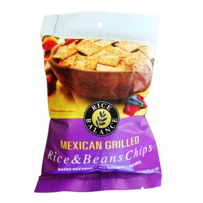 rice and bean chips mexican